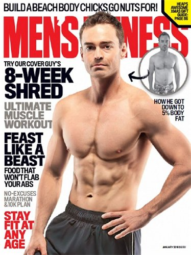 Chris Bonzol Men's Fitness 2016
